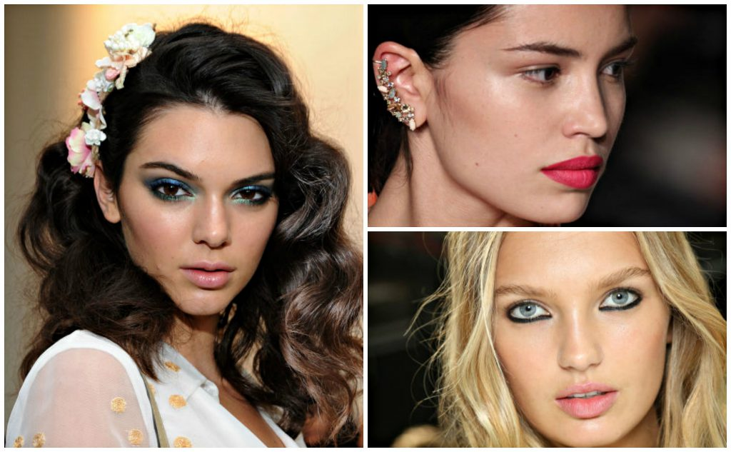 Newest trends in the make-up - spring-summer 2016