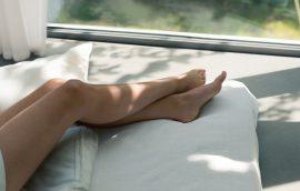 Skin care of feet